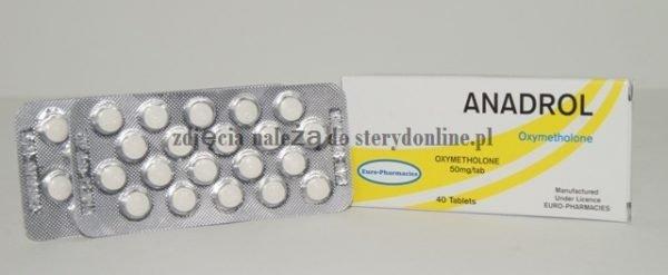 ANADROL Oxymetholone EP