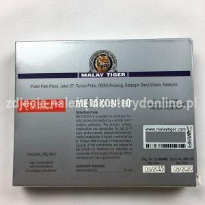 METAXON-10 opakowanie tył