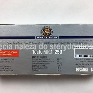 tył opakowania Testo-MIX1-250