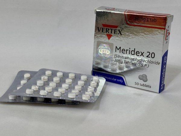 Sibutramina Meridex 20